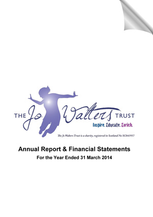 TheJoWaltersTrust AnnualReturn2014 1